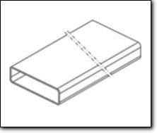 FALMEC Flachkanal 220x90x1200