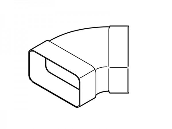 AirTec NW 125 Bogen horizontal 45°