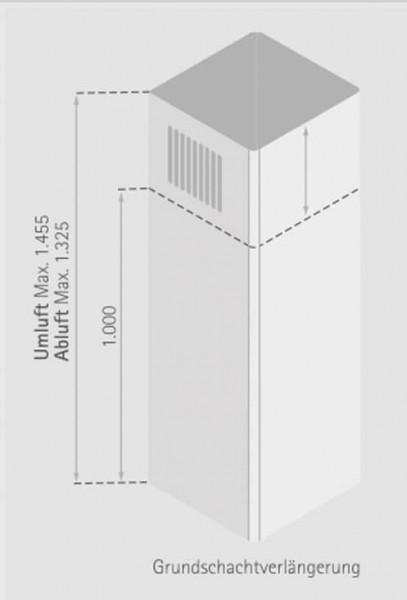 Schachtverlängerung Grundschacht 1m