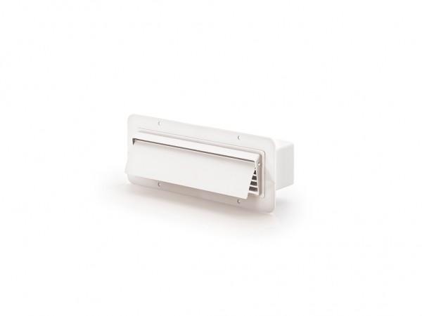 COMPAIR®top 125 Flachkanal-Außenhaube weiß