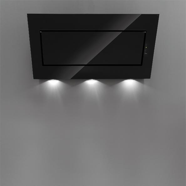 falmec quasar wand 90 ed gsw. Black Bedroom Furniture Sets. Home Design Ideas