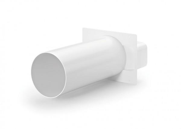 COMPAIRflow 150 Maueranschlussstutzen 2 flach