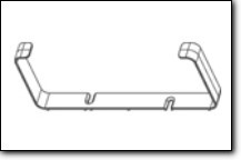 FALMEC Flachkanal Halterung 2