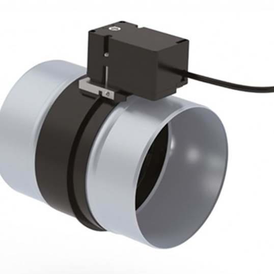 NOVY Rückstauklappe elektr. 125mm