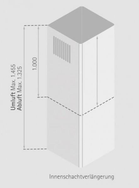 Schachtverlängerung Innenschacht 1m