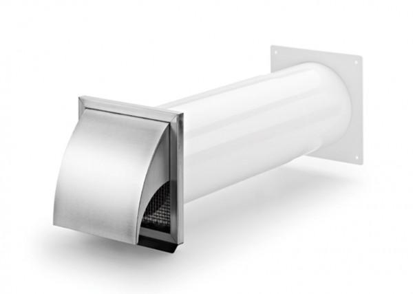 Naber compair®flow 150 mauerkasten edelstahl außenjalousie abluft