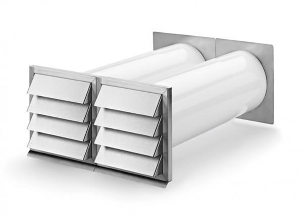 Ab- und Zuluft-Mauerkasten E-Klima A/Z 150