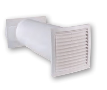 AirTec NW 150 Mauerkasten 165 mm braun