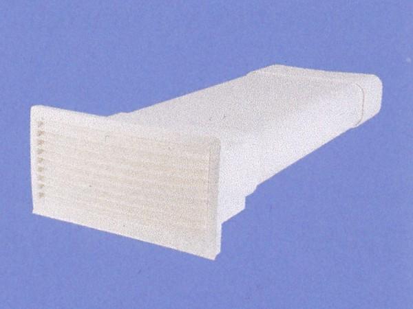 AirTec NW 150 Soft Mauerkasten flach Braun
