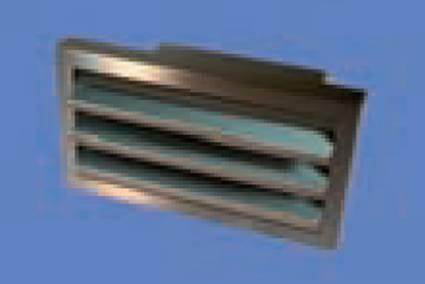 AirTec NW 150 Edelstahl-Außengitter