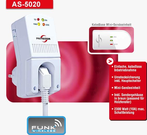 Funk-Abluftsteuerung 5020