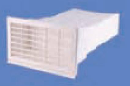 AirTec NW 150 Mauerkasten flach ziegelrot