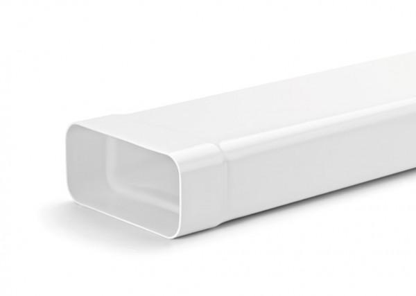 NABER COMPAIRnorm 100 flach Lüftungsrohr mit Muffe N- VRM 1 m