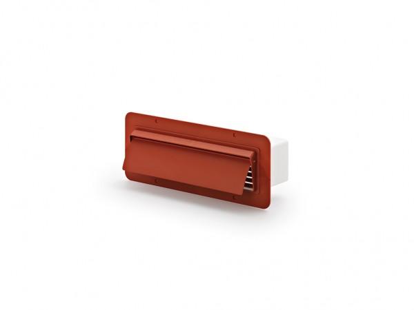 COMPAIR®top 125 Flachkanal-Außenhaube ziegelrot
