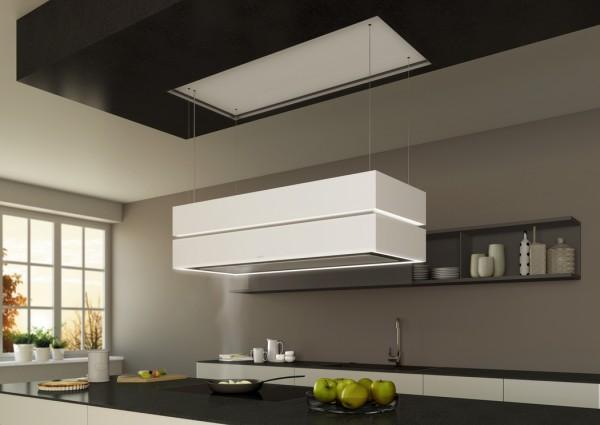 BDL 180 Skyline Edge RAL Deckenanschluss + Glasverkleidung + Effektbeleuchtung
