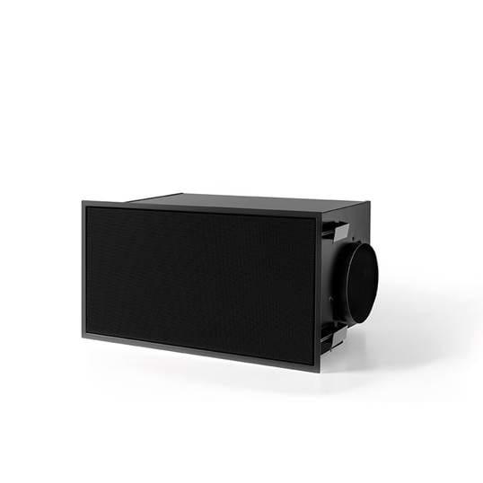 Umluftbox mit Monoblock schwarz (270x500mm)