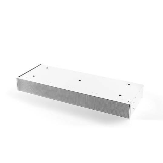 Sockel Umluftbox mit monoblock weiß, Höhe 98 mm