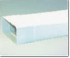 MABO Aero Flachkanal 150 Flachkanal 1 m mit Muffe