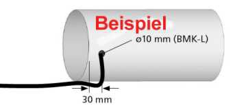 BERBEL Verlängerungsschlauch BMK-L, pro Meter